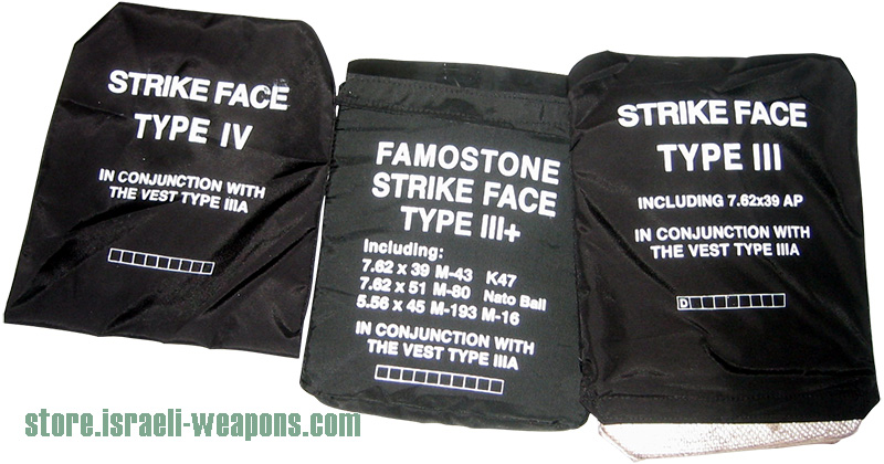 Body Armor Bullet Proof Vest Ceramic Plates Level III (3) and IV (4)