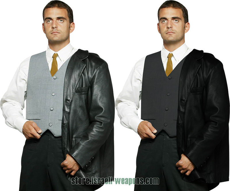 Hagor Concealable Waist Coat Suit BulletProof Vest Body Armour IIIA 3A