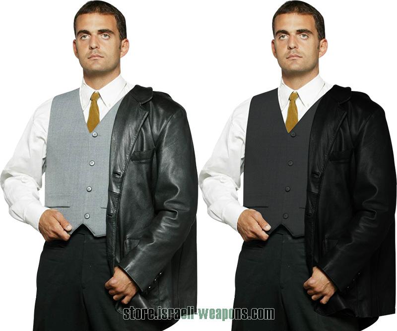 Hagor Concealable Waist Coat Suit BulletProof Vest Body Armour IIIA 3A