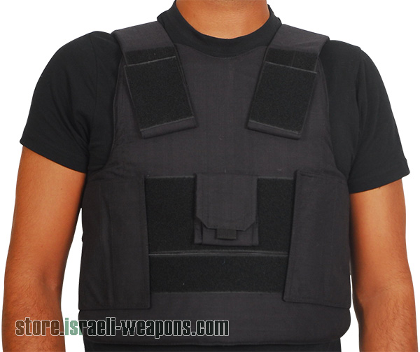 Hagor Concealed Bulletproof Vest Personal Body Armor VIP Style Level IIIA 3A