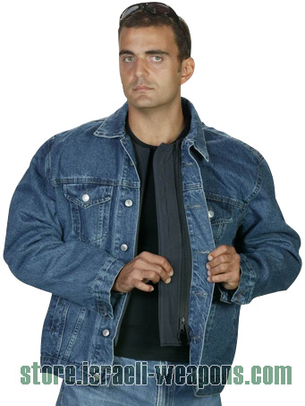 Hagor Jeans Jacket BulletProof Vest Body Armour Includes Side Protection IIIA 3A