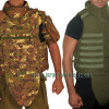 Hagor US Army Bullet Proof Vest Body Armor: MOLLE, Side, Neck & Groin Protection IIIA 3A