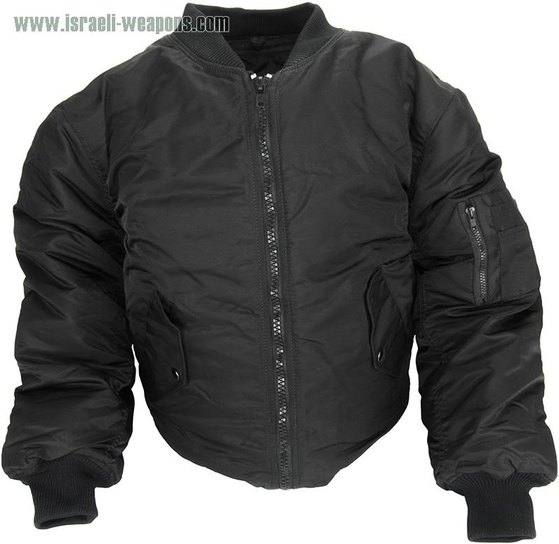 IWEAPONS® Undercover Pilot Flight Jacket BulletProof Vest IIIA
