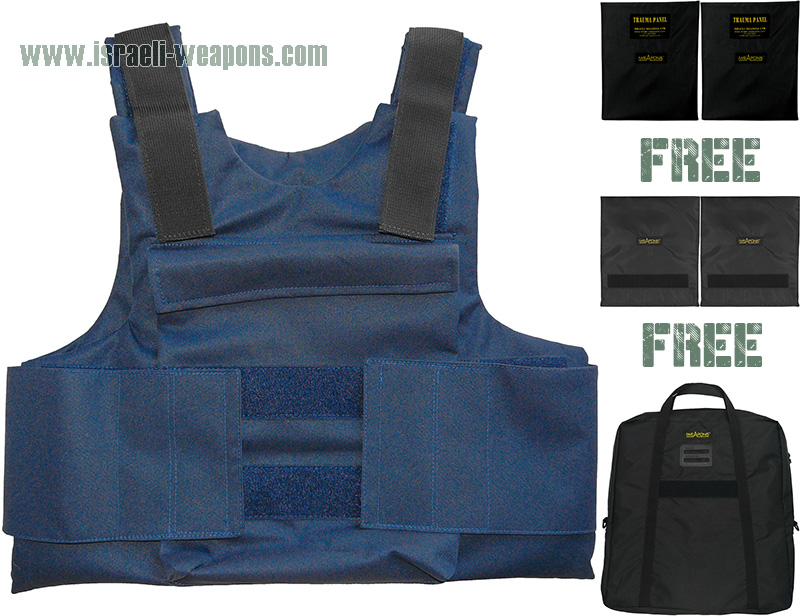 IWEAPONS® Police Personal Bullet Proof Vest Armour IIIA