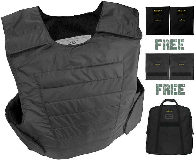 IWEAPONS® Concealed ROBO Bulletproof Vest V.I.P Body Armour IIIA