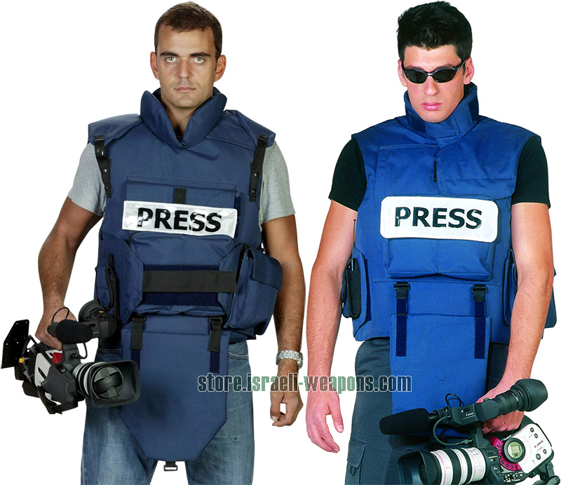 IWEAPONS® Press Titan Bulletproof Vest Body Armour IIIA 3A